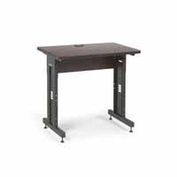 "Kendall Howard 5500-3-004-23 36"" W x 24"" D Training Table  - African Mahogany"