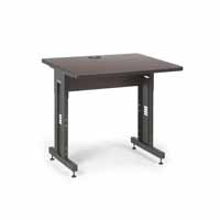 "Kendall Howard 5500-3-004-33 36"" W x 30"" D Training Table  - African Mahogany"