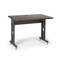 "Kendall Howard 5500-3-004-34 48"" W x 30"" D Training Table - African Mahogany"