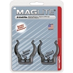 Maglite ASXD026 MOUNTING BRACKETS (D CELL), 2/CD