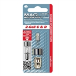 Maglite LMXA201</br>2 Cell Xenon Lamp for C & D Cell Flashlights