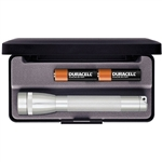 Maglite M2A10L Mini AA Silver Maglite Flashlight
