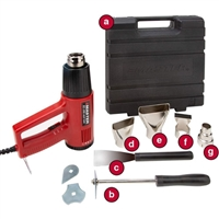 EC-200K Variable Temperature Heat Gun Kit by Master Appliance