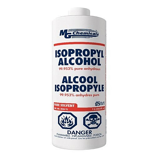 Isopropyl Alcohol - 99% pure anhydrous - 1 Quart