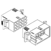 "Molex Connectors 1375PRT - 15 Circuit with Receptacle & Plug - .093"" Series"