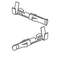 "Molex Connectors 1381-80 Male/Female Pin & Socket Terminals - .093"" Series"