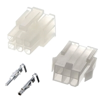 Molex 76650-0076 Mini-Fit Jr. Connector Kit - 6 Circuit