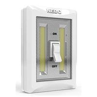 6699 NEBO Flipit400 LED Light Switch - 2 Pack