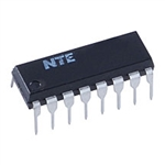 NTE 2102 ​Integrated Circuit 1K Static Ram SRAM 350ns 16 Lead Dip