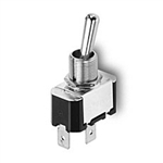 NTE Toggle Switch, SPDT, 15A, 125VAC - ON OFF ON - .250 Terminals 54-009