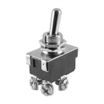 NTE Toggle Switch, DPST, 15A, 125VAC - ON NONE OFF - Screw Terminals 54-011