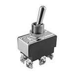 NTE Toggle Switch, DPST, 15A, 125VAC - ON OFF ON - Screw Terminals 54-013