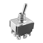 NTE Toggle Switch, 3PDT, ON NONE ON - Screw Terminals 54-016