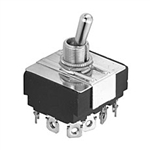 NTE Toggle Switch, 4PDT, ON OFF ON - Screw Terminals 54-017