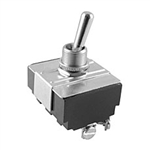 NTE Toggle Switch, 4PST, OFF NONE ON - Screw Terminals 54-018