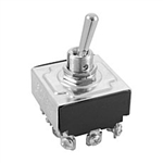 NTE Toggle Switch, 4PDT, ON NONE ON - Screw Terminals 54-019