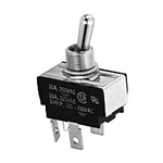 NTE Toggle Switch, DPST, 15A, 125VAC - ON NONE OFF 54-026