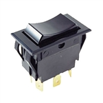 NTE Rocker, SPST, 15A, 125VAC Switch ON NONE OFF 54-047