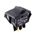 NTE Rocker, DPST, 20A, 125VAC Switch OFF NONE ON 54-081