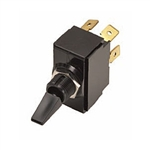 NTE Toggle Switch, DPDT, 6A, 125VAC - ON NONE ON 54-084