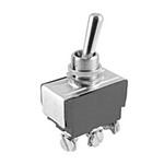 NTE Toggle Switch, SPDT, 20A, 125-277VAC - ON OFF ON - Screw Terminals 54-095