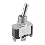 NTE Toggle Switch, SPDT, 6A, 125VAC - ON NONE (ON) 54-097