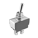 NTE Toggle Switch, SPST, 15A, 125VAC - ON NONE (OFF) - Screw Terminals 54-104