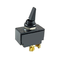 NTE Toggle Switch, DPST, 20A, 125-277VAC - ON NONE OFF 54-112