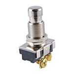 NTE Pushbutton, SPST, 10A, 250VAC Switch OFF (ON) 54-134