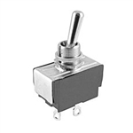 NTE Toggle Switch, SPST, 15A, 125VAC - ON NONE OFF - Solder Lugs 54-137