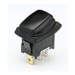 NTE 54-202W Waterproof Rocker Switch