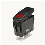 NTE 54-215W Waterproof Lighted Rocker Switch