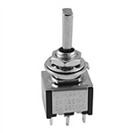 NTE Toggle Switch, DPDT, 6A, 125VAC - ON OFF ON 54-334