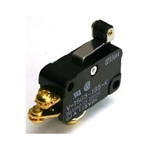 NTE Snap Action, SPDT, 15A, 250VAC, Short Hinge Roller Lever Switch 54-401