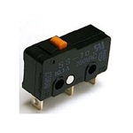 NTE Snap Action, SPDT, 10.1A, 125/250VAC, Pin Plunger Switch 54-418