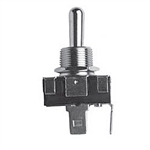 NTE Toggle Switch, SPST, 1 HP, 20A 125-250VAC - ON NONE OFF - .250 Terminals 54-579