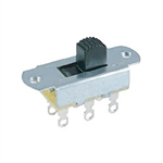 "NTE Slide Switch, DPDT ON-OFF, Actuator Height .276"" 54-667"
