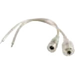 NTE 69-A9 Waterproof DC Connectors Male And Female For LED Strip Power Supplies And Remote Receiver