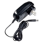 NTE 69-D24 Power Supply, 12V, 2A, 24W, 2.1mm x 5.5mm plug