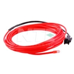 NTE 69-ELW3.2-RD Red EL Wire 3.2mm