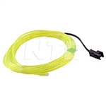 NTE 69-ELW3.2-YG Yellow Green EL Wire 3.2mm