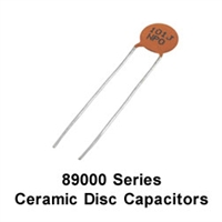 NTE 89010 Ceramic Capacitors, 10pf 50v
