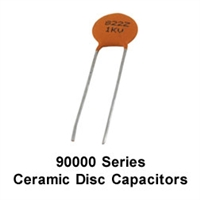 NTE 90033 Ceramic Capacitors, 33pf 1000V