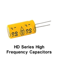 NTE HD2.2M25 Electrolytic Capacitor, High Frequency Horizontal Deflection 2.2mfd 25V