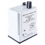 R60-11AD10-U NTE Relay, Programmable Time Delay 24-240 Volt AC