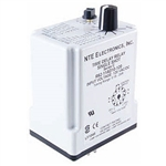 R62-11AD10-U NTE Relay, Programmable Time Delay 24-240 VoltAC 12-125 Volt DC