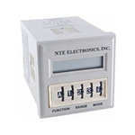 R65-11AD10 NTE Relay, Programmable Time Delay