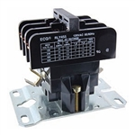 RLY455 NTE Relay, Definite Purpose, 3PST-DM, 120VAC, 25 Amp, Magnetic Contactors