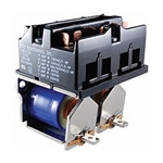 RLY715 NTE Relay, 2-Coil, Compact Motor Reversing Contactors, 24VDC, 15 Amp, 6 Pole-DM