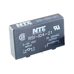 NTE RS1-1D4-21 Relay, Solid State, PC Mount, 3-24VDC 4 Amp